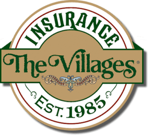 The Villages Insurance Logo, established 1985
