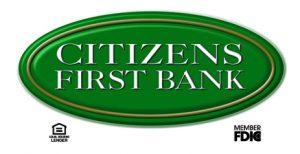 Citizens First Bank logo