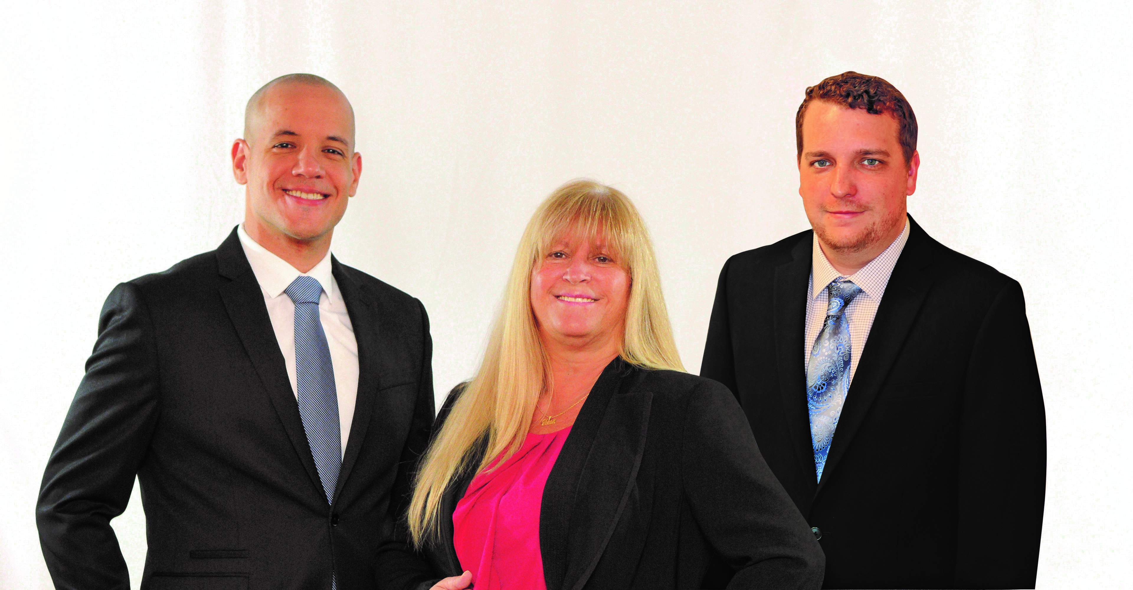 TVIP Financial Services Team: Carlos Colon, Diana Johnson and Kyler Newcomb