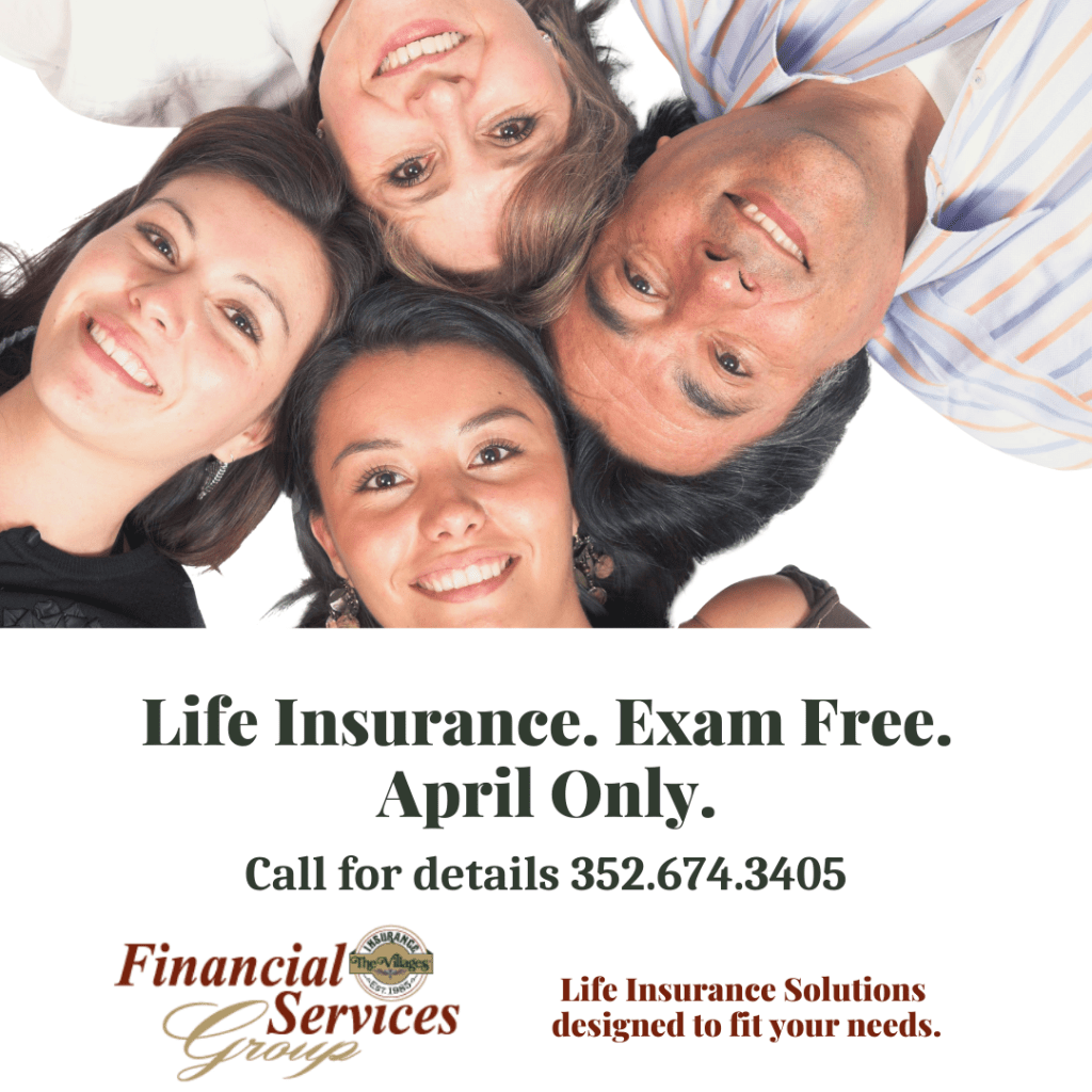 Picture of family together ptromoting Life Insurance