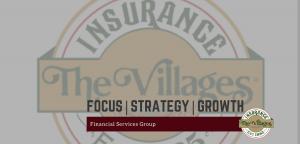 The Villages Insurance logo banner